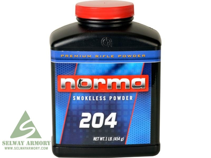Norma 204 Smokeless Powder- 1 Lb. (HAZMAT Fee Required)