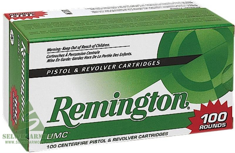 Remington UMC .40 S&W 180 Gr. Jacketed Hollow Point- Value Pack of 100