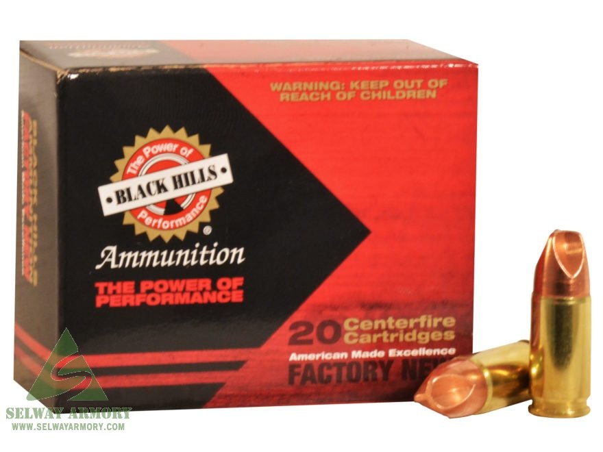 Black Hills 9mm Luger 125 Gr  Solid Copper HoneyBadger- Lead