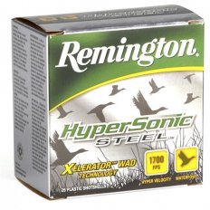 "Remington HyperSonic 12 Gauge 3"" 1-1/8 oz BB Non-Toxic Steel Shot- Box of 25"