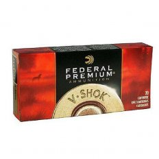 Federal Premium Vital-Shok .22-250 Remington 60 Gr. Nosler Partition- Box of 20