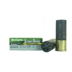 "Remington Ultimate Defense 12 Gauge 2-3/4"" 00 Buckshot 9 Pellets- Box of 5"