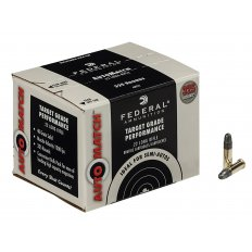 Federal AutoMatch Target .22 Long Rifle 40 Gr. Lead Round Nose AM22