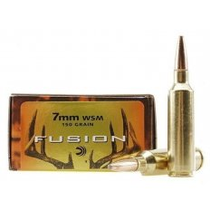 Federal Fusion 7mm Winchester Short Magnum (WSM) 150 Gr. Spitzer Boat Tail- Box of 20