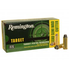Remington Target .45 Long Colt 225 Gr. Lead Semi-Wadcutter RTG45C1