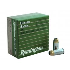 Remington Golden Saber .45 ACP 230 Gr. Brass Jacketed Hollow Point- Box of 25