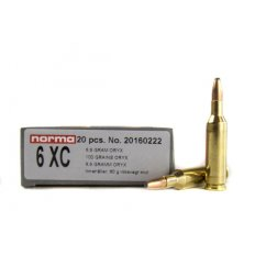 Norma Precision 6mm XC 100 Gr. Oryx Protected Point- Box of 20