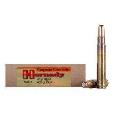 Hornady Dangerous Game .416 Remington Magnum 400 Gr. DGX Flat Nose Expanding- Box of 20