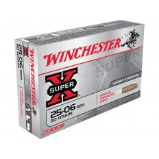 Winchester Super-X .25-06 Remington 90 Gr. Positive Expanding Point- Box of 20