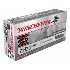 Winchester Super-X 7.62x39mm 123 Gr. Soft Point X76239