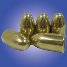 Armscor Bullets .38/.357 Caliber (.357) 158 Gr. FMJ RN- Bag of 100