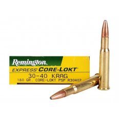 Remington Core-Lokt .30-40 Krag 180 Gr. Pointed Soft Point- Box of 20