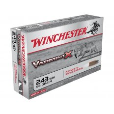 Winchester Varmint X .243 Winchester 58 Gr. Polymer Tip- Box of 20