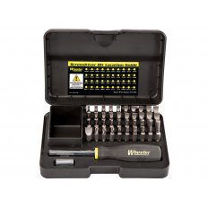 Wheeler Engineering 43-Piece Professional Gunsmithing Screwdriver Set 954621