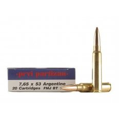 Prvi Partizan 7.65x53mm Argentine Mauser 174 Gr. Full Metal Jacket- Box of 20