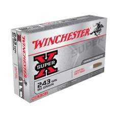 Winchester Super-X .243 Winchester 80 Gr. Pointed Soft Point- Box of 20