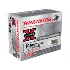 Winchester Super-X 10mm Auto 175 Gr. Silvertip Hollow Point X10MMSTHP