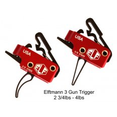 Elftmann Tactical AR-15 3-Gun Drop-In Curved Trigger 3GUNC