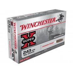 Winchester Super-X .243 Winchester 100 Gr. Pointed Soft Point- Box of 20
