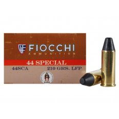 Fiocchi Cowboy Action .44 Special 210 Gr. Lead Round Nose Flat Point- Box of 50