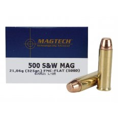 Magtech Sport .500 S&W Magnum 325 Gr. Full Metal Jacket Flat Point- Box of 20