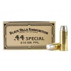 Black Hills Cowboy Action .44 Special 210 Gr. Lead Flat Point- Box of 50
