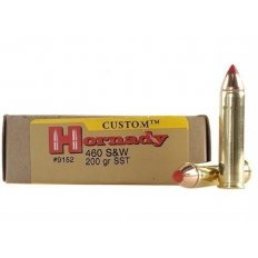 Hornady Custom .460 S&W Magnum 200 Gr. FTX- Box of 20