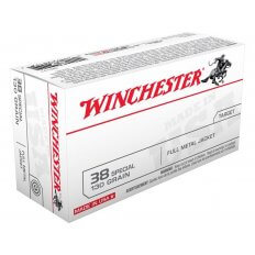 Winchester USA .38 Special 130 Gr. Full Metal Jacket- Value Pack of 100