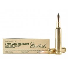 Weatherby 7mm Weatherby Magnum 160 Gr. Nosler Partition- Box of 20