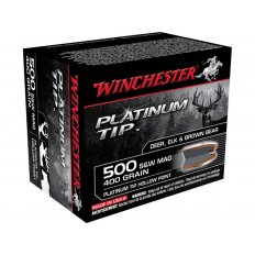 Winchester Supreme .500 S&W Magnum 400 Gr. Platinum Tip Hollow Point- Box of 20