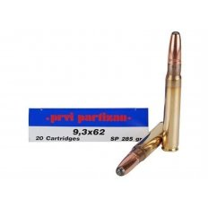 Prvi Partizan 9.3x62 mm Mauser 285 Gr. Soft Point- Box of 20