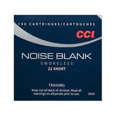CCI .22 Short Noise Blanks- Box of 100