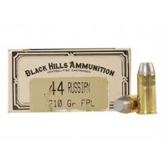 Black Hills Cowboy Action .44 Russian 210 Gr. Lead Flat Point- Box of 50