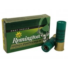 "Remington Premier 12 Gauge 3"" 1 oz Copper Solid Sabot Slug- Lead-Free- Box of 5"