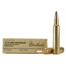 Weatherby .378 Weatherby Magnum 270 Gr. Hornady Spire Point- Box of 20