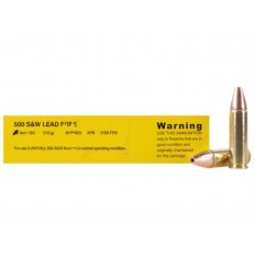 Buffalo Bore .500 S&W Magnum 375 Gr. Barnes XPB Solid Copper Hollow Point- Lead-Free- Box of 20