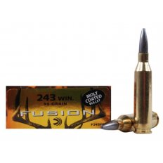 Federal Fusion .243 Winchester 95 Gr. Spitzer Boat Tail Moly Coated- Box of 20