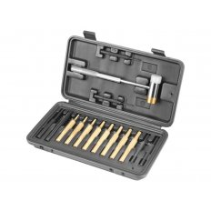 Wheeler Engineering Hammer and Punch Set with Hard Plastic Case