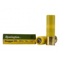 "Remington Slugger 20 Gauge 2-3/4"" 5/8 oz Rifled Slug- Box of 5"
