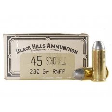 Black Hills Cowboy Action .45 Schofield 230 Gr. RNFP- Box of 50