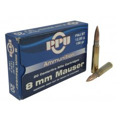 Prvi Partizan 8mm Mauser 198 Gr. Full Metal Jacket- Box of 20