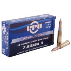 Prvi Partizan 7.62x54R 182 Gr. Full Metal Jacket- Box of 20