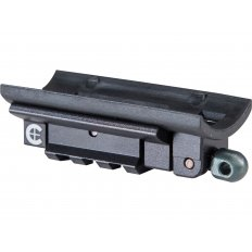 Caldwell Pic Rail Rifle Adapter Plate- Aluminum Black 156716