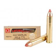 Hornady LEVERevolution .444 Marlin 265 Gr. FTX- Box of 20