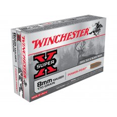 Winchester Super-X 8x57mm JS Mauser (8mm Mauser) 170 Gr. Power-Point X8MM