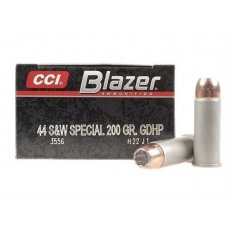 CCI Blazer .44 Special 200 Gr. Speer Gold Dot Jacketed Hollow Point- Box of 50
