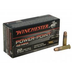 Winchester Power-Point 42 Max .22 Long Rifle 42 Gr. Hollow Point- PP22LRH42U