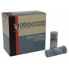 "Fiocchi Dove & Target 12 Gauge 2-3/4"" 1 oz #7-1/2 Shot- Box of 25"