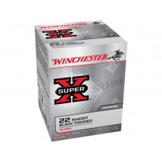 Winchester Super-X .22 Short Black Powder Blank- Box of 50
