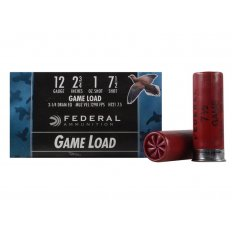 "Federal Game-Shok Game Load 12 Gauge 2-3/4"" 1 oz #7-1/2 Shot- Box of 25"